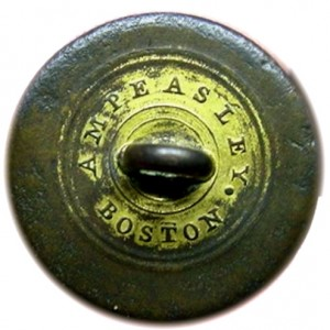 1810-30's Navy 23mm Treble Gilt 16 Stars RV40 Alberts NA 66-B georgewashingtoninauguralbuttons.com R