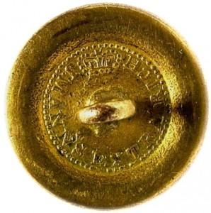 1820-30's Navy 22.7mm Gilded Brass NA 87-A.1 RJ Silverstein's georgewashingtoninauguralbuttons.com O
