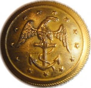1835-50 Navy 22mm low convex Gild Brass Alberts NA106 Tices NA212A.13 Ebay $0000 9-13-12 georgewashingtoninauguralbuttons.com o