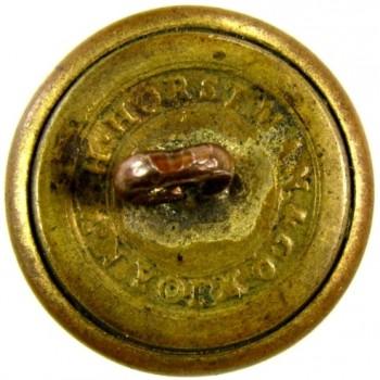 1840-50 Artillery 19.7mm Gild brass RJ Silverstein's georgewashingtoninauguralbuttons.com R