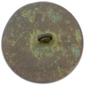 GWI 1-A 33.7mm Copper Orig Shank RJ Silverstein's georgewashingtoninauguralbuttons.com R