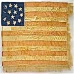 Revolutionary Flag Shaw RJ Silverstein's Georgewashngtoninauguralbuttons O.