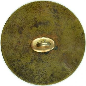 WI 1-A 34mm Brass Replaced Shank old politicals6-21-2012-$1,250 $1,540 rj silversteins georgewashingtoninauguralbuttons.com A-36 R