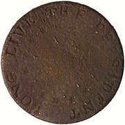 WI 18-A FIFTEEN STAR PATTERN BRASS 20MM RARITY 7 1793 GEORGE WASHINGTON PD $2,250. 10-14-11 copy