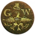 WI 23-B 14mm Gilt Brass Dave Dug in South Carolina 5