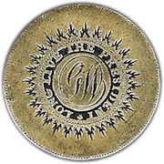 * GWI 5 * THE G.W. MONOGRAM WITH A SALIENT STYLE BORDER