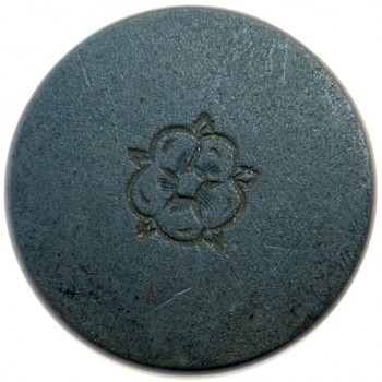 1748-87 Royal Navy Small Tudor Rose Design Seacoat Size26.00MM PD $15. 06-11-13 O
