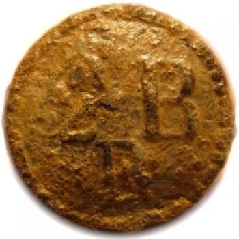 1775-76 2nd Pennsylvania Troiana A2BP. cuff orig shank