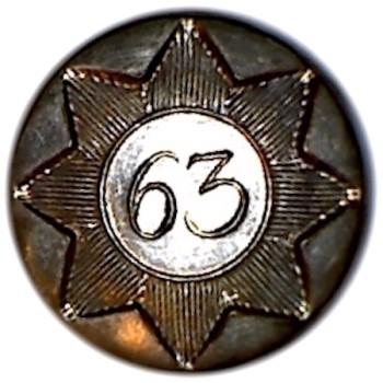 1776-1782 63rd Regt of Foot 17mm Cuff Silvered Bone Back RJ Silversteins georgewashingtoninauguralbuttons.com R1