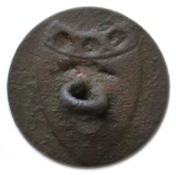 1783 British Artillery Button 17mm rj silversteins georgewashingtoninauguralbuttons.com O