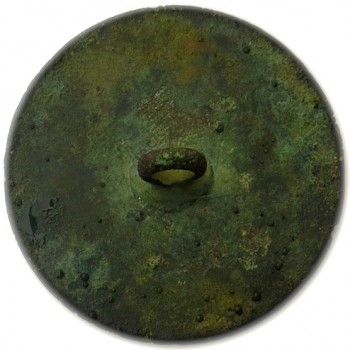 1789 Long Live The King 33.89mm Gilt Brass Dug Canada Orig. Shank RJ Silverstein's georgewashingtoninauguralbuttons.com R