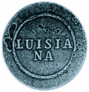 1795-1821 Spanish Luisia NA 1 Piece Sheffield Silver Plate 28mm RJ Silversteins georgewashingtoninauguralbuttons.com O