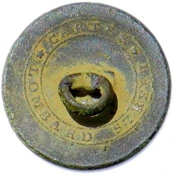 1799 2nd Regt. USA & E Artillerist & Engineers 22mm Gilt Brass AY 9 Robert J. Silverstein georgewashingtoninauguralbuttons.com CA-8r