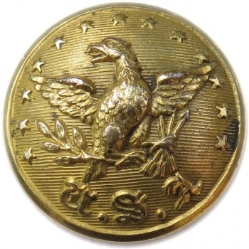 1800-20 US official Diplomat OD 17 Unlisted Variant Georgewashingtoninauguralbuttons.com O