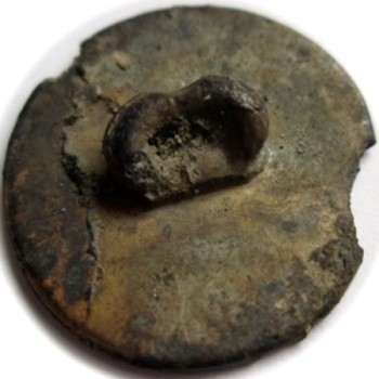 1808-11 6th Regt. Infantry Pewter 20mm RJ Silversteins georgewashingtoninauguralbuttons.com r