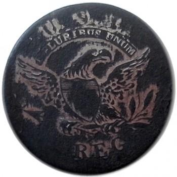 1808-12 Infantry Officers 24mm silver plated Alberts GI 53R1 georgewashingtoninauguralbuttons.com O