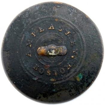 1810-12 24.84mm Copper Albert's GI 51-J RV 60 RJ Silverstein's georgewashingtoninauguralbuttons.com r