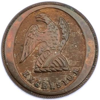 1812-29 22.23mm Silvered NY 100A NY 10-A RJ Silversteins georgewashingtoninauguralbuttons.com O