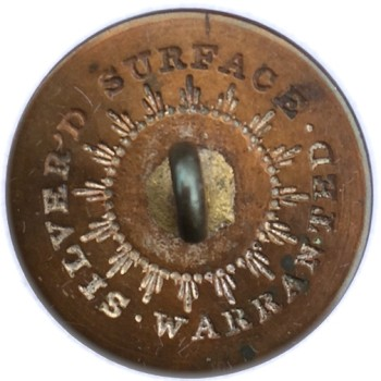 1812-29 22.23mm Silvered NY 100A NY 10-A RJ Silversteins georgewashingtoninauguralbuttons.com R