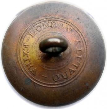 1812-30 Mass Militia General Service button 25mm brass georgewashingtoninauguralbuttons.com r