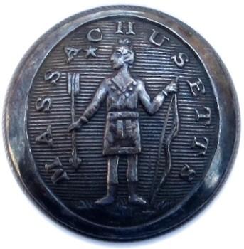 1812-30's 1812-30 Massachusetts State Militia Cuff RJ Silverstein's georgewashingtoninauguralbuttons.com O 3