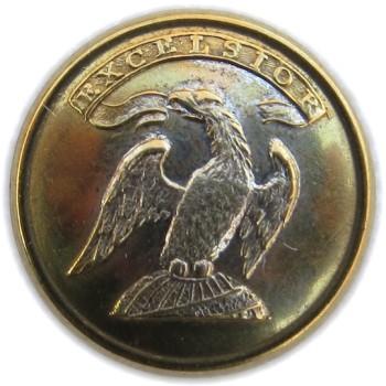 1815-30 New York State Militia 16.10 Gilt Brass NY110As.3 NY 13Av RJ Silversteins georgewashingtoninauguralbuttons.com O