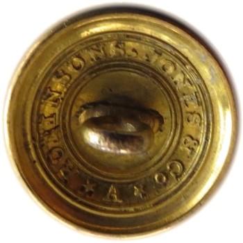 1820-1835 New York Artillery National Guard 19.77mm Tice NY 209 C.1 Albert NY 19 c RJ Silversteins georgewashingtoninauguralbuttons.com R