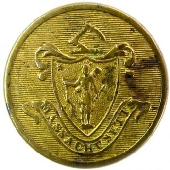 1820-30's Mass 22.5mm brass albert ms27 georgewashingtoninauguralbuttons.com o