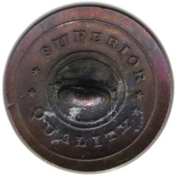 1820's New York Militia 20.41mm Silver Plated NY 115A.1 NY 12 RJ Silversteins georgewashingtoninauguralbuttons.com R