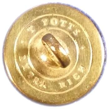 1830's Maine 15mm Gilt Brass ME 100 Gs.1 ME 4F RJ Silversteins georgewashingtoninauguralbuttons.com R