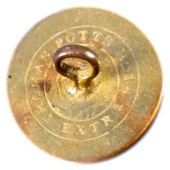 1830's Maine 23mm Gilt Brass ME 100G.1 ME 4F RJ Silversteins georgewashingtoninauguralbuttons.com R