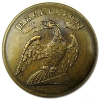 1835-40's NY Militia Silver Plated 21mm Alberts 14-Tice NY200A.1 georgewashingtoninauguralbuttons.com O