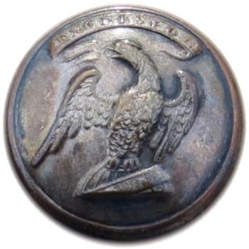 1835-40's New York Militia 21.26mm Silver Plated NY 200 B.1 NY 14 RJ Silversteins georgewashingtoninauguralbuttons.com O