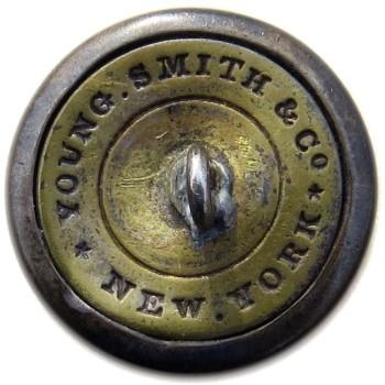 1835-40's New York Militia 21.26mm Silver Plated NY 200 B.1 NY 14 RJ Silversteins georgewashingtoninauguralbuttons.com R