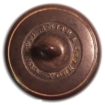 1840-50 New York Militia General Use 15mm Gilt Brass NY216As.3 NY 26 georgewashingtoninauguralbuttons.com R