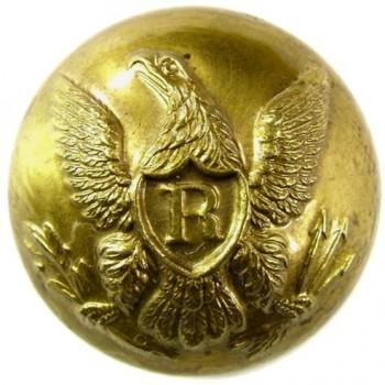 1840-50's Federal Riflemen Albert RF 17 2-Piece georgewashingtoninauguralbuttons.com O1