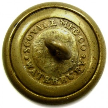 1840-50's Florida 2mm State Seal Militia 20mm gild brass georgewashingtoninauguralbuttons.com r