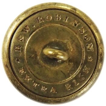 1840-55 Massachusetts Worcester City Guard 23mm Gilt Brass MS 284 A.1 MS 100 Georgewashingtoninauguralbuttons.com R