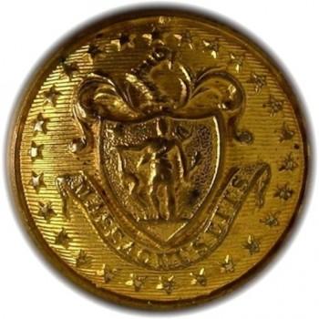 1840's Mass 22.5mm brass albert ms30 georgewashingtoninauguralbuttons.com o
