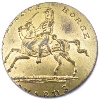 1840's Rhode Island's The Providence Horse Guards Tice RI 233A RI 27 RJ Silversteins georgewashingtoninauguralbuttons.com O