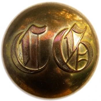 1845-59 Massachusetts Boston City Guard 22.94mm Brass Albert's MS 57 : Tice's MS 232 A.2 RJ Silversteins georgewashingtoninauguralbuttons.com O