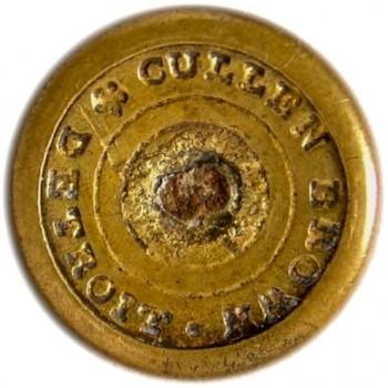 1846-60 Maine Militia 3-piece 14.7mm brass
