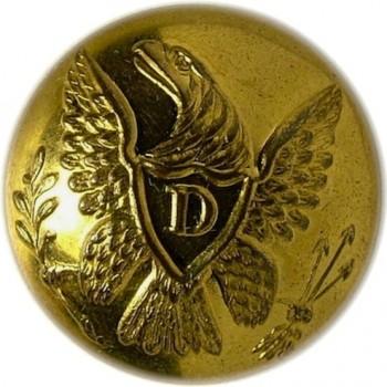 1847-48 Dragoons 19.3mm 2-piece low convex non dug D06A.7georgewashingtoninauguralbuttons.com o