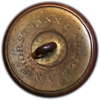1850-61 Pennsylvania Militia PA 203 A.2 23mm Gilt Brass Georgewashingtoninauguralbuttons.com R