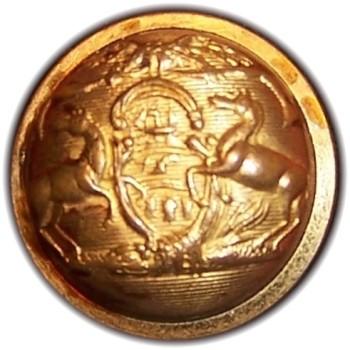 1850-61 Pennsylvania Militia PA 203 A.4 23mm Gilt Brass Georgewashingtoninauguralbuttons.com R