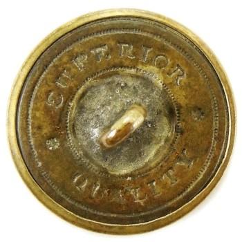 1850-61 Pennsylvania Militia PA 203 A.5 23mm Gilt Brass Georgewashingtoninauguralbuttons.com R