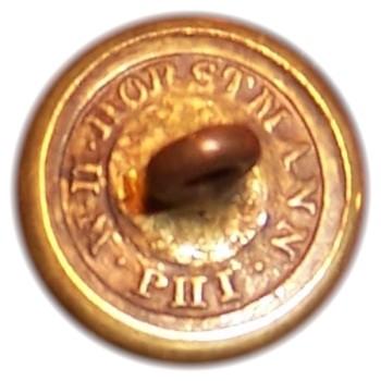 1850-61 Pennsylvania Militia PA 203 As.3 15mm PA 18 Gilt Brass Georgewashingtoninauguralbuttons.com R