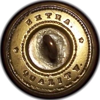 1850-61 Pennsylvania Militia PA 203 B.4 23mm PA 18B Gilt Brass Georgewashingtoninauguralbuttons.com O