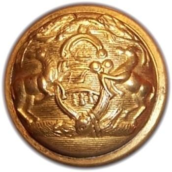 1850-61 Pennsylvania Militia PA 203 B.4 23mm PA 18B Gilt Brass Georgewashingtoninauguralbuttons.com R
