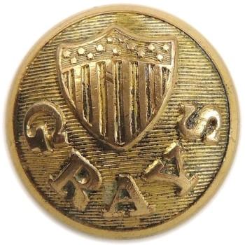 1850 Maine Bath City Grays 23mm Gilt Brass ME 270a - ME 10 RJ Silversteins georgewashingtoninauguralbuttons.com O